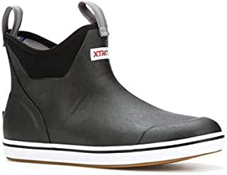 22736-9 Deck Boot Ankle Black, Size 9