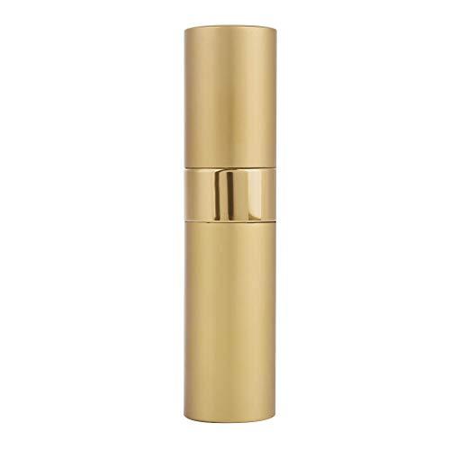 Flacon vaporisateur de parfum rotatif de 8 ml, atomiseur de parfum rechargeable, mini atomiseur de parfum portable rechargeable, 7 couleurs en option pour homme et femme