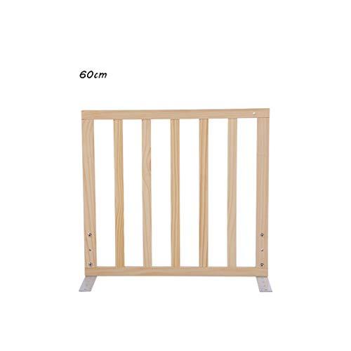 Rail de lit pour- Barrière de lit en Bois, barrière de Protection Universelle Contre Les Chutes de lit King Barrière de lit King Rampe de barrière de lit Haute 75cm (Taille : 60 cm)