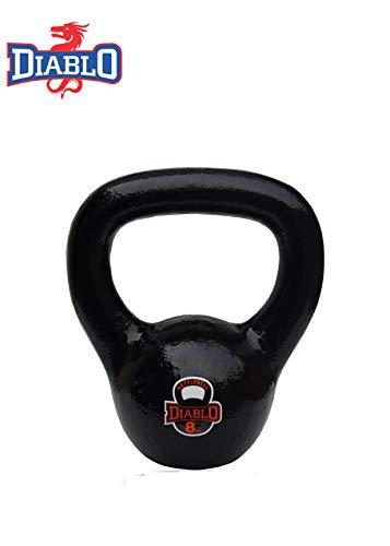 DIABLO Premium Fitness Solid Cast Iron Kettlebell Weights (Weight 8KG)