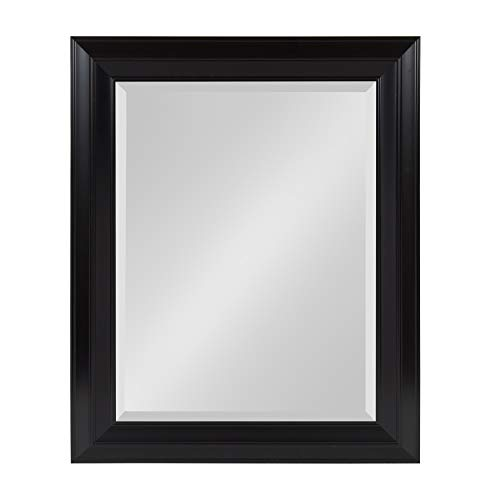 Kate and Laurel Whitley Classic Decorative Framed Beveled Wall Mirror, 23.5x29.5, -