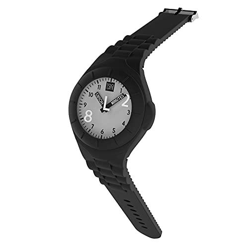 TOO LATE Reloj Mash-Up Lord Regular Movimiento de cuarzo Sumergible 5 ATM Caja 32 mm, Negro ,