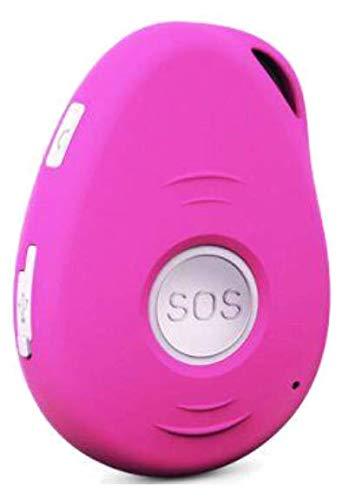 G-ASSISTANT® GPS-X/SOS/LIVETRACKING/FALLSENSOR/GEOFENCE/DEUTSCHES Manual (Pink)