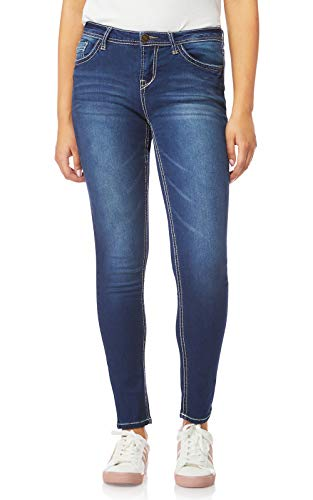 WallFlower Women's Juniors High Rise Irresistible Denim Jegging in Camila Size: 9