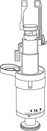 MEPA Ablaufventil für UP-Spülkasten Sanicontrol A21 - 590705