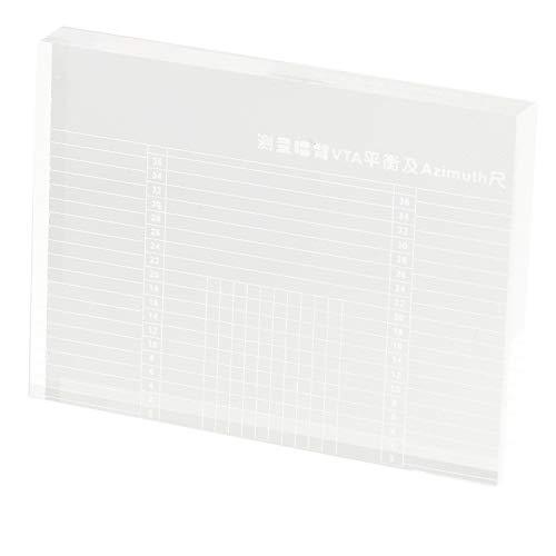 TOOGOO LP Schall Platten Messger?t Tonarm VTA/Cartridge Azimut Lineal Balance Lautsprecher Azimut Lineal Headshell Platten Spieler