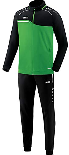 JAKO Kinder Competition 2.0 Trainingsanzug Polyester, Soft Green/Schwarz, 116