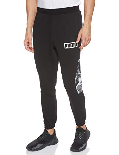 PUMA, Rebel CAMO Pants cl FL, joggingbroek voor heren