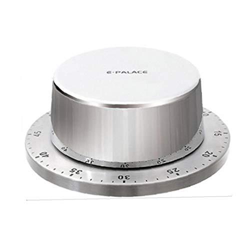 NaisiCore Küchen-Timer Zeit Erinnerung Kochen Wecker Stunde Mechanische Magnetic Countdown-Timer mit Magnetfuß Küchenversorgung