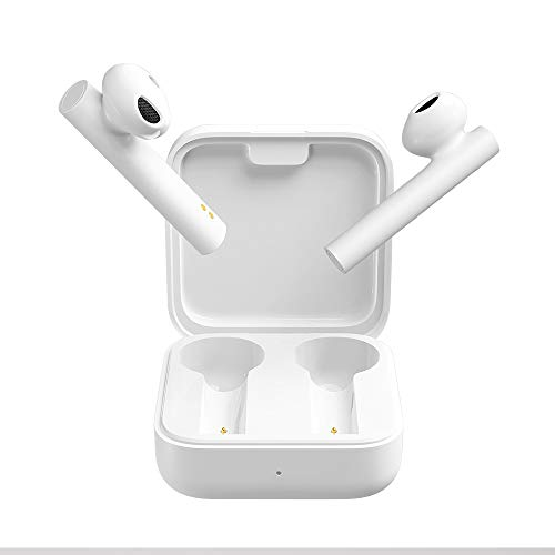 Xiaomi Mi True Cuffie wireless wireless 2 Basic Bluetooth, con scatola di ricarica per auricolari portatile, compatibile con iOS e Android