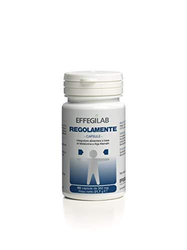 Effegilab Regolarmente Integratore alimentare per contrastare la stanchezza fisica e mentale - 60 capsule