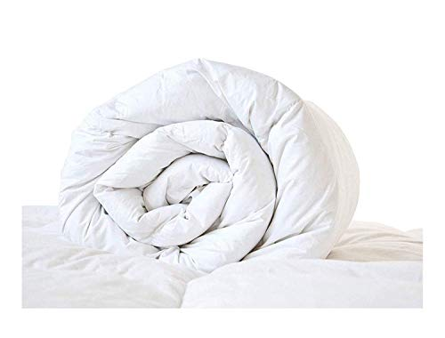 Lancashire Bedding 13.5 tog Duck Feather & Down Winter Duvet Quilt EMPEROR BED SIZE - 85% Feather 15% Down