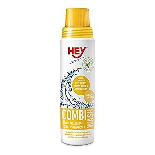 Hey Sport Unisex– Erwachsene Waschmittel Combi Wash, farblos, Flasche 250 ml