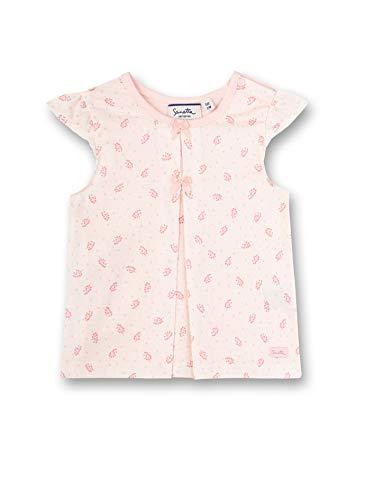 Sanetta Baby-Mädchen Fiftyseven Bluse, Rosa (Rosa 38091), 80 (Herstellergröße: 080)