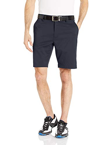 Amazon Essentials Men's Slim-Fit Stretch Golf Short, Navy, 40