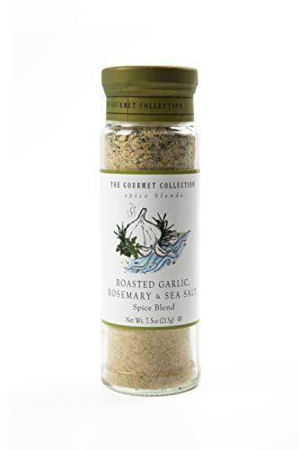 The Gourmet Collection Spice Blends - Gewürzmischung - Meersalz mit geröstetem Knoblauch und Rosmarin