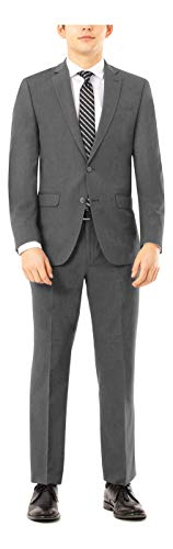 Kenneth Cole Unlisted Men's Slim Fit Suit, New Navy, 40 Regular