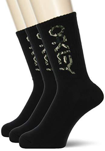 Oakley Herren PCS B1B Socken 2.0 (3 Stück), Blackout, Medium