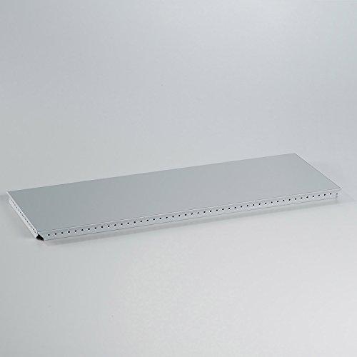 Swissmobilia Tableau extérieur pour USM Haller RAL 7035 - Gris clair - Élément métallique - Diverses dimensions du système - Dimensions du système : 500 x 175 cm