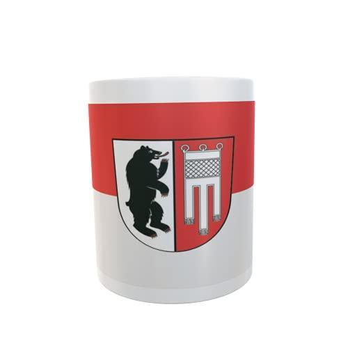 U24 Tasse Kaffeebecher Mug Cup Flagge Amtzell