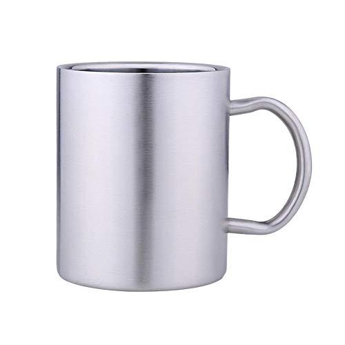 Minear Edelstahl-Kaffeebecher, Doppelwandige Isolierbecher,hochwertigem Edelstahl Isolierbecher,Verbrühungsschutz,Anti-Rost,Anti-Fall,umweltfreundlich - 500ML