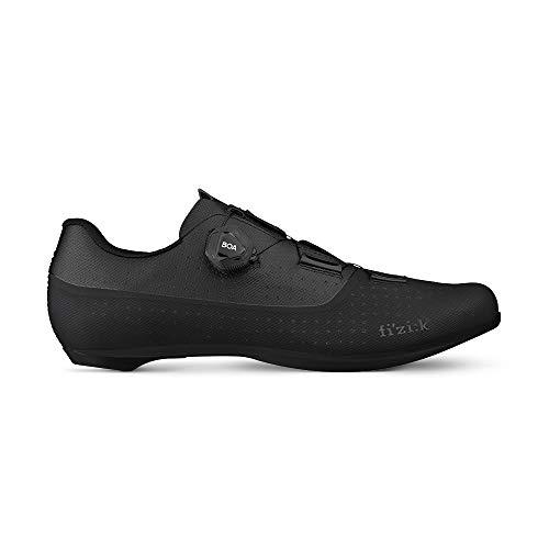 Fizik Tempo Overcurva R4, Zapatillas de Ciclista Unisex Adulto, Negro, 45