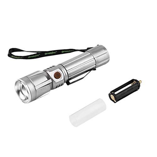 SkyWolfEye Aluminium Taschenlampe Leistungsstarke P50 XPE LED Light Flashlight