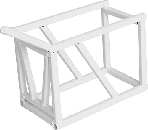 Little Busters Toys Show Cattle Clipping Chute White