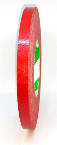 Stagetape Gewebeklebeband Nichiban 11mm x 50m Rot