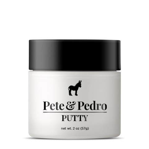 Pete and Pedro Putty - Hair Putty for Men with Strong Hold and Matte Finish {Featured on Shark Tank!}}
