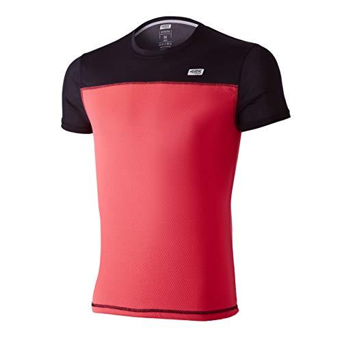 42K Running - Camiseta técnica 42K SYRUSS Hombre Fluor Pink XL