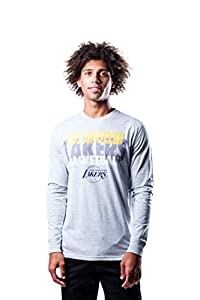 ULTRA GAME NBA APPAREL: Officially Licensed by The NBA (National Basketball Association), Ultra Game NBA features innovative designs with forward thinking graphics and textures. COMFORTABLE FIT: The Tee Shirt is made from a lightweight cotton and pol...
