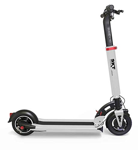 Sxt Buddy V2 Elektrische Scooter Wit Escooter Elektrische Scooter Scooter tot 35 km/H