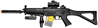 Double Eagle m82p Full & semi Automatic Airsoft Assault Rifle Laser sig 552(Airsoft Gun)