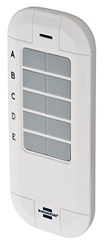 Brennenstuhl BrematicPRO Funk-Fernbedienung / Funk-Handsender (Smart Home Funk-Fernbedienung, Handsender 868 mhz, Steuerung per Knopfdruck) weiß