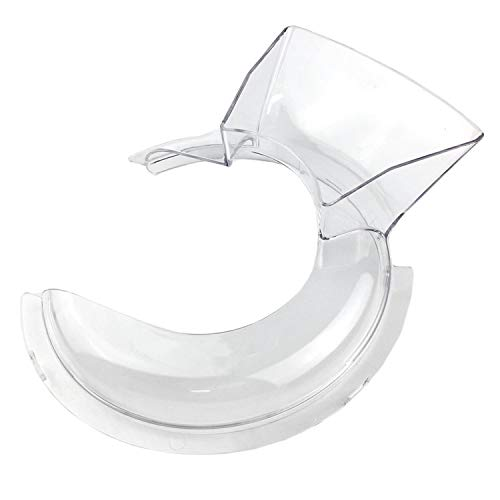Pouring Shield for KitchenAid 4.5 and 5 qt Mixers, Replace KN1PS Pouring Shield