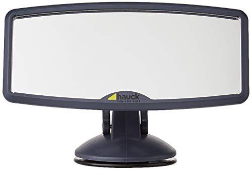 Hauck Watch Me 2 Rückspiegel für die Windschutzscheibe, Frontscheibenspiegel für Kinder im Autositz auf der Rücksitzbank, Rücksitzspiegel Baby Autospiegel mit Saugnäpfen, 12 x 8 cm