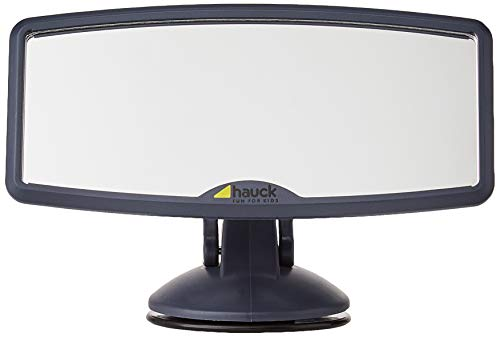 Hauck Watch Me 2 - Espejo retrovisor para parabrisas, uso para sillas de auto en dirección marcha, ventosa con gran sujeción, 12 x 8 cm