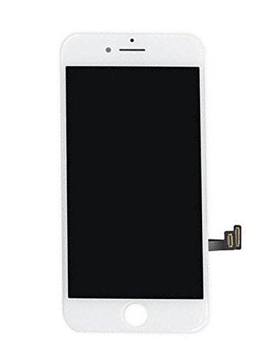 SZM iPhone 7 液晶パネルセットタッチパネル フロントガラスデジタイザ 修理工具付属 (7白)
