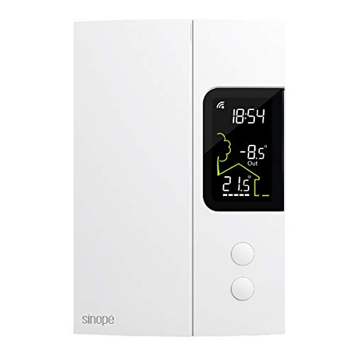 Sinopé Smart Thermostat for Electric Heating TH1123ZB (Compatible with Alexa) 3000 W / 240 V