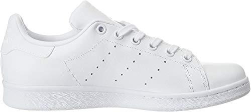 adidas Unisex-Kinder Stan Smith J Gymnastikschuhe, Weiß (White S76330), 36 EU