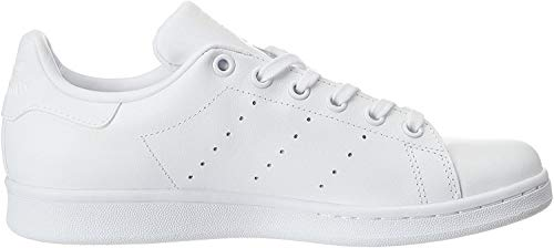 adidas Stan Smith J, Zapatillas de Deporte Unisex Niños, Blanco (Ftwbla/Ftwbla/Ftwbla), 37 1/3 EU (4.5 UK)