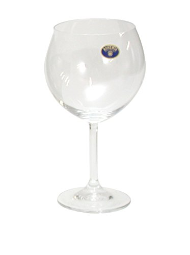 Bohemia Crystal Lara Set Calici per Degustazione, Vetro, Trasparente, 46 cl, 6 Pezzi