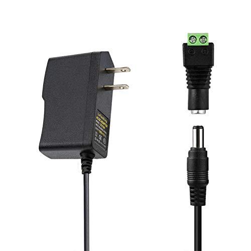12v 1a Dc UK Stecker Netzteil Adapter Transformator für LED Streifen CCTV 12w Ls