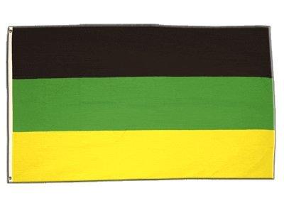 Fahne / Flagge Südafrika African National Congress ANC + gratis Sticker, Flaggenfritze®