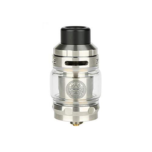 Geekvape Zeus Subohm Tank 2ml con bobina GV Funzione a prova di perdite No e Liquid, No Nicotine (argento)