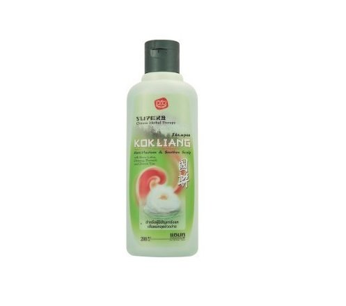 Kok Liang Anti-Hairloss & Soothes Scalp Chinese Herbal Therapy Shampoo 200ml