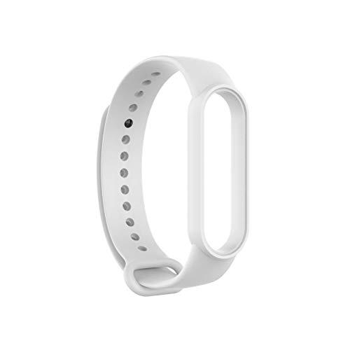 HAOXU Correa compatible para Xiaomi Mi Band 6 Soft TPU Wristband Reemplazo Band