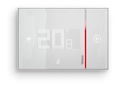 Foto di BTicino SX8000 Smarther Termostato Connesso da Incasso con Wi-Fi Integrato, 5 - 40 °C, Bianco