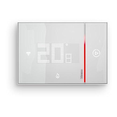 BTicino SX8000 Smarther Termostato Connesso da Incasso con Wi-Fi Integrato, 5 - 40 °C, Bianco